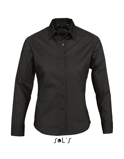 L634 SOL´S Ladies Long Sleeved Stretch Shirt Eden
