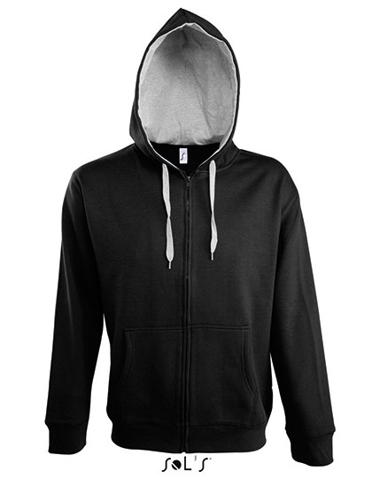 L480 SOL´S Contrasted Zipped Hooded Jacket Soul Men