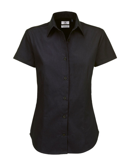 BCSWT84 B&C Twill Shirt Sharp Short Sleeve / Women
