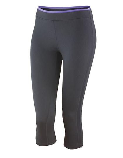 RT273F SPIRO Fitness Womens Capri Pant