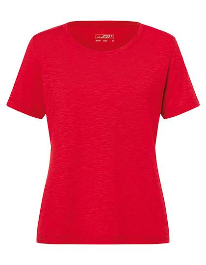 7ff80f458b JN749 James+Nicholson Ladies`Slub T-Shirt online günstig kaufen