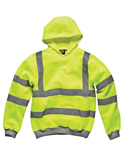 DK22090 Dickies Hochsichtbares Kapuzen-Sweatshirt