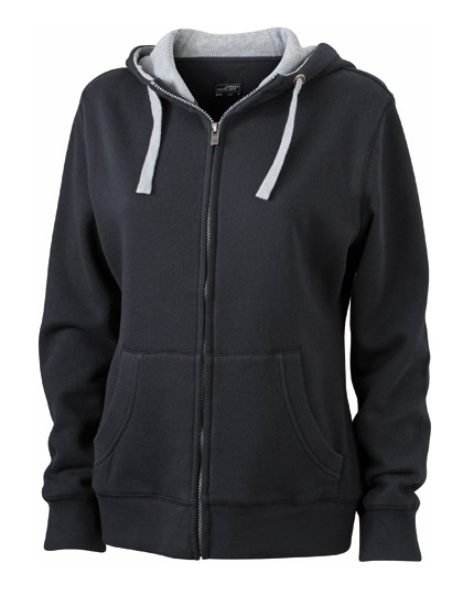 JN962 James+Nicholson Ladies´ Lifestyle Zip-Hoody
