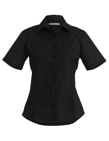 K742F Kustom Kit Business Shirt Short Sleeve