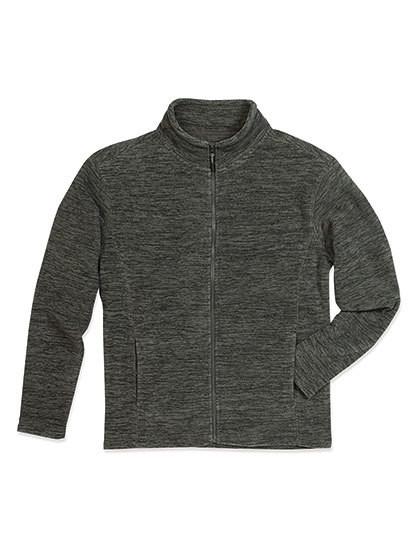 S5060 Stedman® Active Melange Fleece Jacket