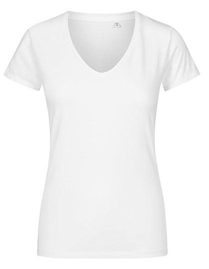 XO1525 X.O by Promodoro Women´s V-Neck T-Shirt