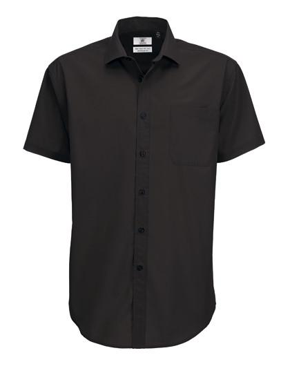 BCSMP62 B&C Poplin Shirt Smart Short Sleeve / Men