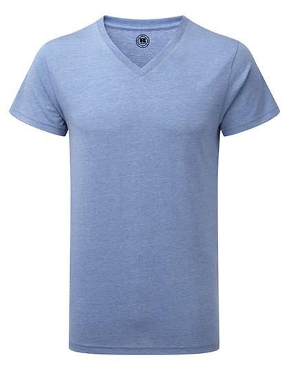 timeless design 4a0f9 c4ed3 Z166M Russell HD Herren T-Shirt mit V-Ausschnitt