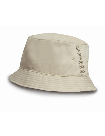 RH45 Result Headwear Washed Cotton Bucket Hat