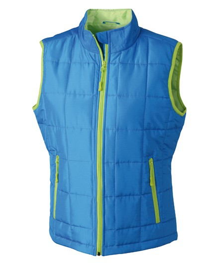 JN1036 James+Nicholson Ladies´ Padded Light Weight Vest