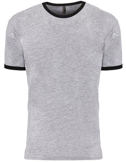 NX3604 Next Level Apparel Men`s Ringer T-Shirt