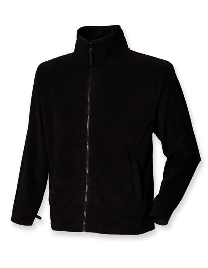 Fleecejacke Herren Henbury Microfleece Jacke Fleece Antipeeling große Größen