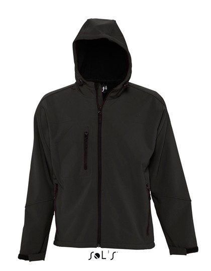L848 SOL´S Hooded Softshell Jacket Replay