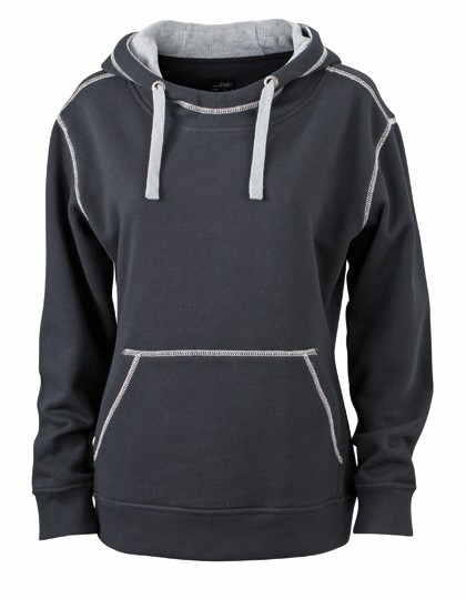 JN960 James+Nicholson Ladies´ Lifestyle Hoody