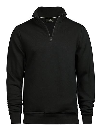 TJ5438 Tee Jays Half Zip Sweatshirt