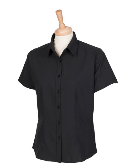 W596 Henbury Ladies Wicking Short Sl. Shirt