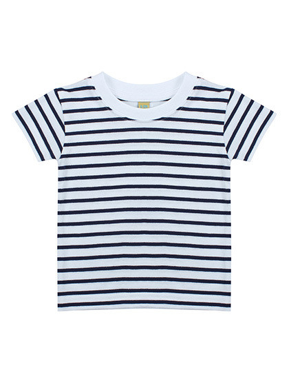 LW027 Larkwood Short Sleeved Stripe T Shirt