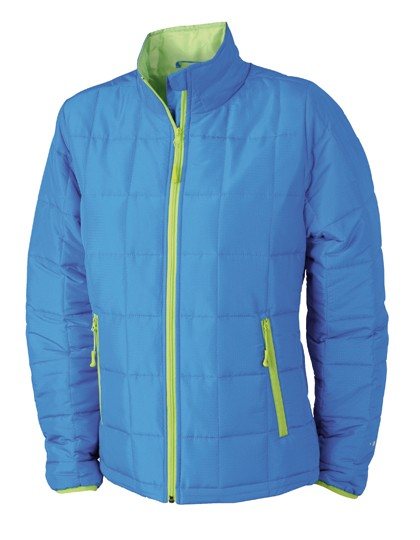 JN1034 James+Nicholson Ladies´ Padded Light Weight Jacket
