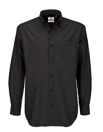 BCSMO01 B&C Shirt Oxford Long Sleeve /Men