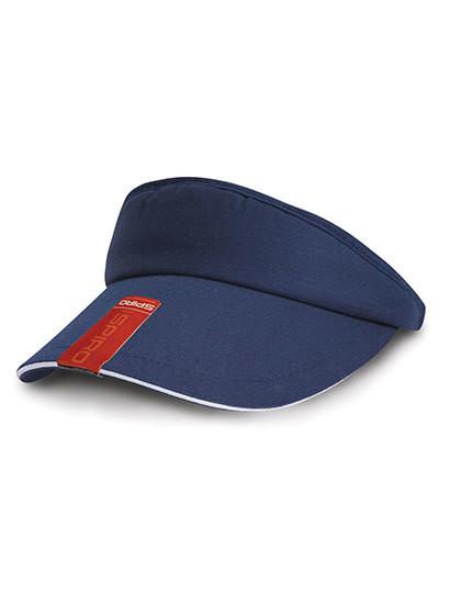 RH48 Result Headwear Herringbone Sun Visor