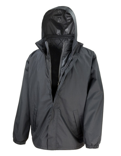 RT215X Result Core 3-in-1 Jacket with Quilted Bodywarmer