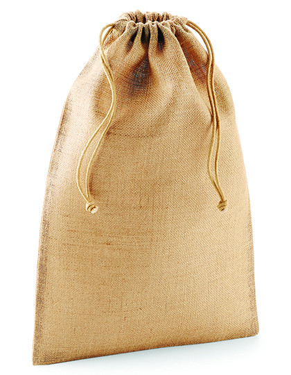 WM415 Westford Mill Jute Stuff Bag