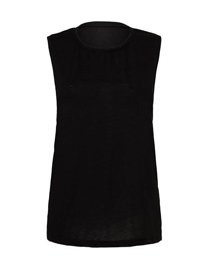 BL8803 Bella Women's Flowy Scoop Muscle T-Shirt