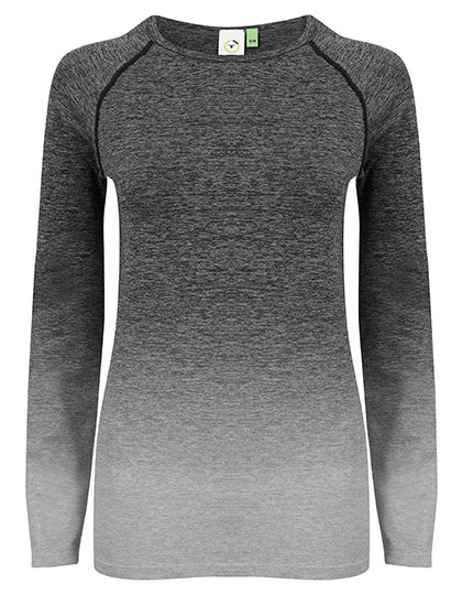 TL304 Tombo Ladies Seamless Fade Out Long Sleeved Top
