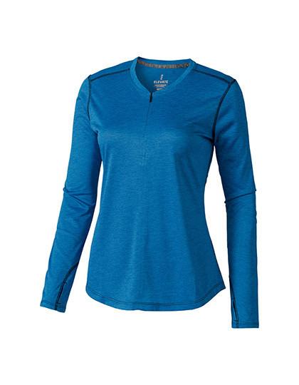 EL39024 Elevate Quadra Long Sleeve Ladies Top