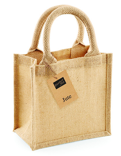 WM411 Westford Mill Jute Petite Gift Bag