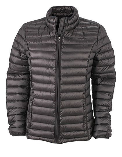 JN1081 James+Nicholson Ladies Quilted Down Jacket