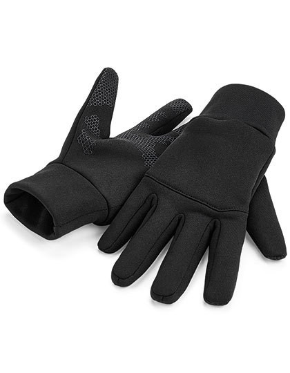 CB310 Beechfield Softshell Sports Tech Gloves