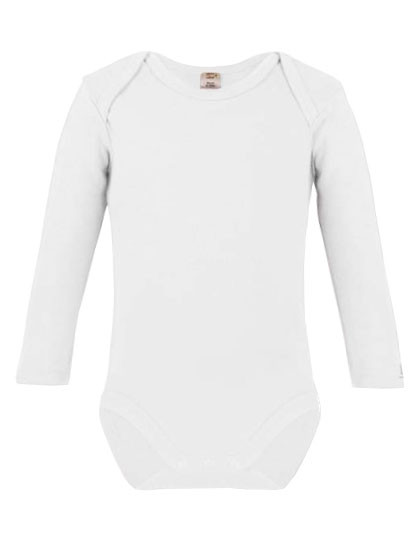 X805 Link Sublime Long Sleeve Baby Bodysuit Polyester