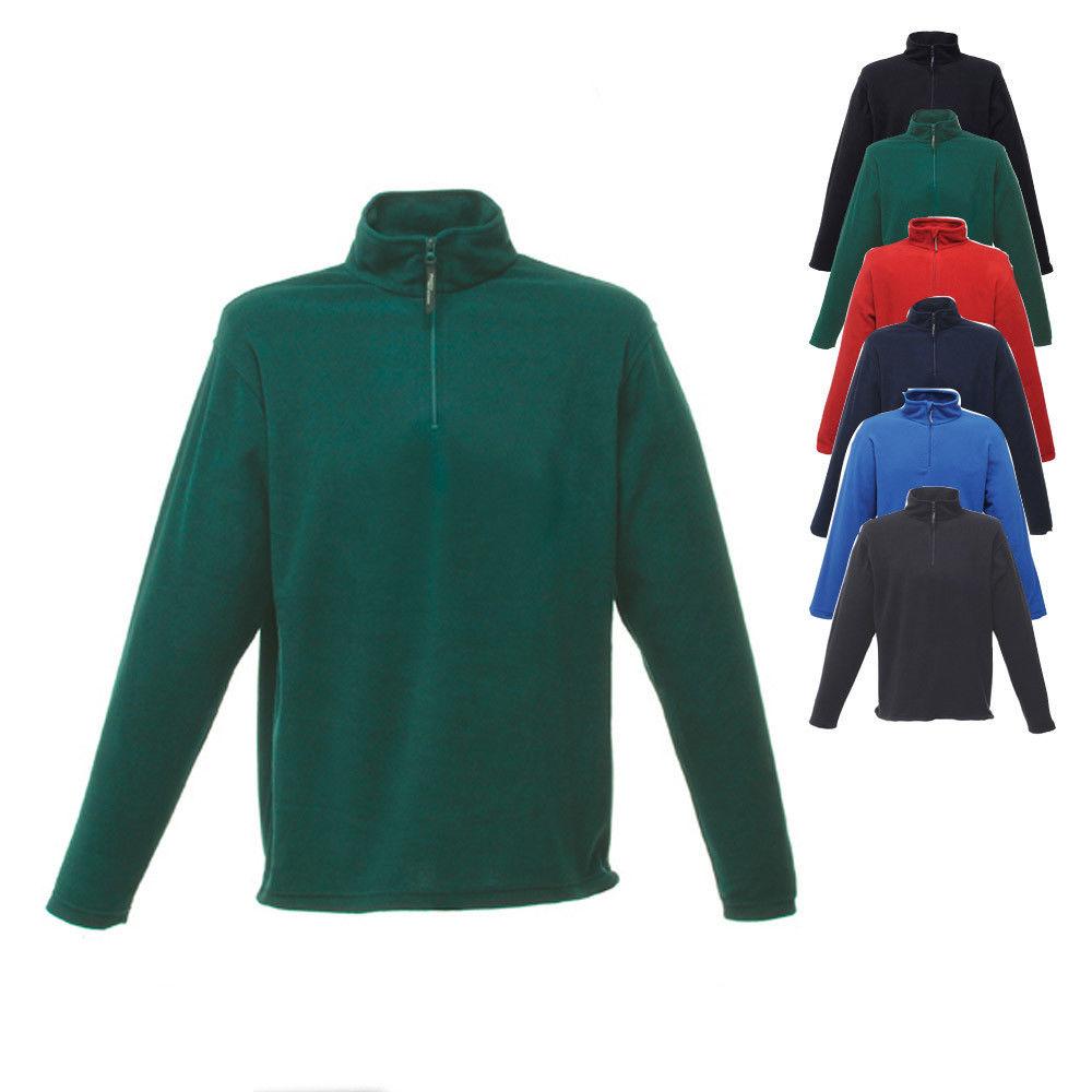 Fitness & Jogging Damen Herren Sweatshirt Half-Zip Fleece Ness von SOLS # sweater