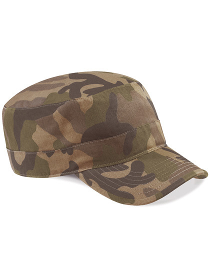 CB33 Beechfield Camo Army Cap