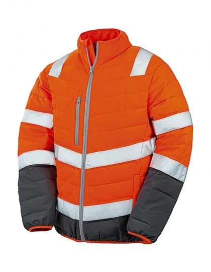 RT325 Result Mens Soft Padded Safety Jacket