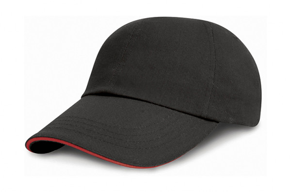 RH24P Result Headwear Heavy Brushed Cotton Cap