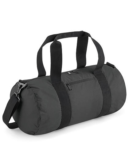 BG136 BagBase Reflective Barrel Bag