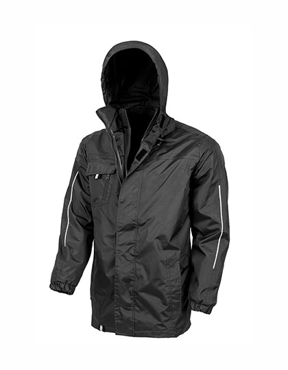 RT236 Result Core 3-in-1 Transit Jacket with Softshell Inner