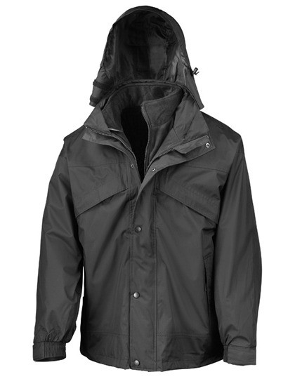 RT68 Result 3-in-1 Zip & Clip Jacket