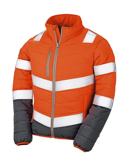 RT325F Result Womens Soft Padded Safety Jacket