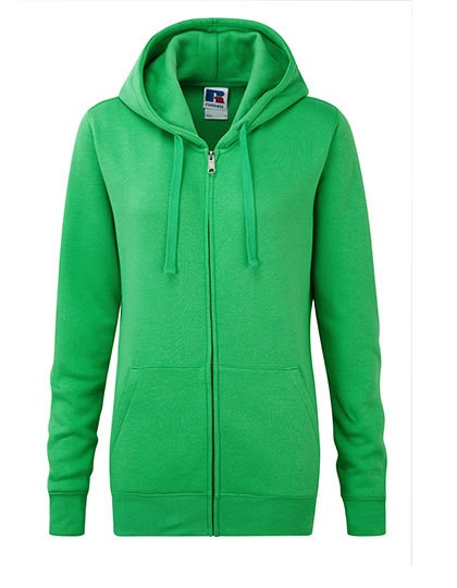 Z266F Russell Ladies Authentic Zipped Hood