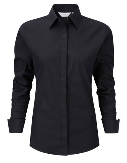 Z960F Russell Collection Ultimate Stretch Bluse Langarm