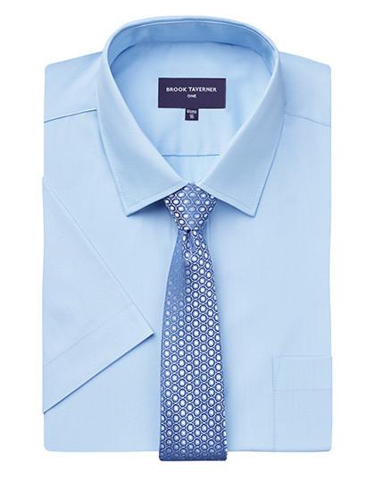 BR691 Brook Taverner Vesta Short Sleeve Shirt