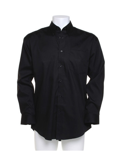 K105 Kustom Kit Men´s Corporate Oxford Shirt Long Sleeve
