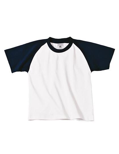 BCTK350 B&C T-Shirt Base-Ball / Kids