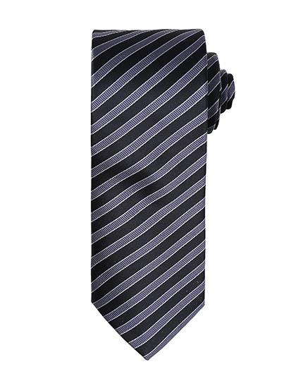 PW782 Premier Workwear Double Stripe Tie
