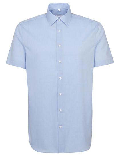 SN666261 Seidensticker Men`s Shirt Slim Fit Shortsleeve