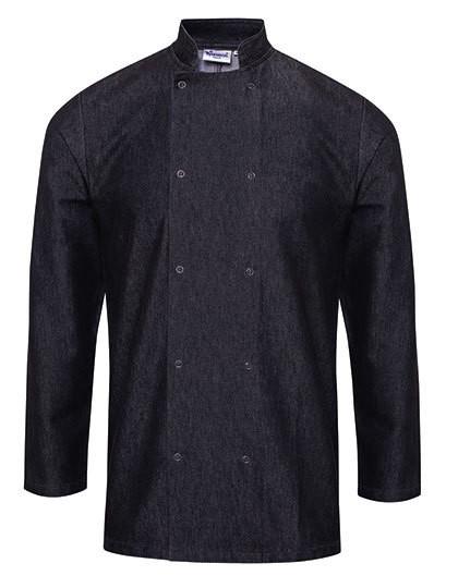 PW660 Premier Workwear Denim Chefs Jacket
