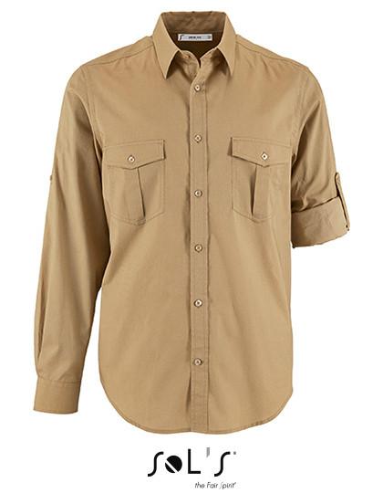 L02763 SOL´S Mens Shirt Burma